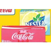 Coca-Cola or Canada Dry Soft Drinks or Nestea Iced Tea, Minute Maid, Five Alive or Fruitopia Fruit Beverage - $3.88