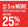 Junior And Youth Protective & Skate  - 25% off