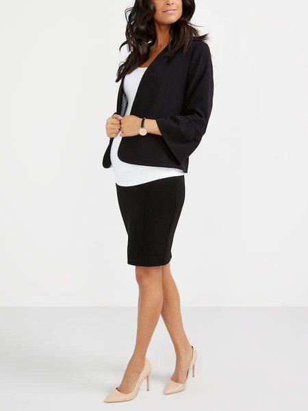 2b966a0c54437 Thyme Maternity Stork & Babe - Ponte De Roma Maternity Pencil Skirt -  $31.49 ($13.50 Off) Stork & Babe - Ponte De Roma Maternity Pencil Skirt