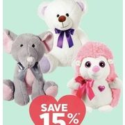 All Plush - 15% off