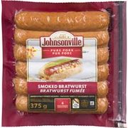 Johnsonville Smoked Sausages - $3.99