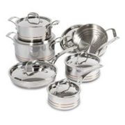 Lagostina 5-ply Copper-clad Cookware Set, 12-pc - $699.99 ($2100.00 Off)