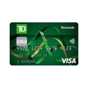 TD® Rewards Visa* Card: Receive 5,000 TD Rewards Points