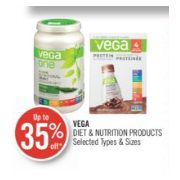 Up to 35% Off Vega Diet & Nutrition Products