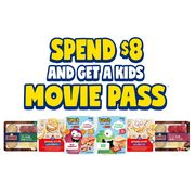 Schneiders: Get a FREE Cineplex Kids Movie Pass When You Buy Select Schneiders Products