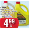 Cedar Corn or Canola Oil Cholesterol Free - $4.99