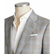 Soft Checked Virgin Wool Sports Jacket - $1,699.99 ($1150.01 Off)