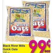 Black River Mills Quick Oats - $0.99