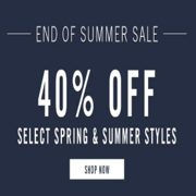 Perry Ellis End of Summer Sale: 40% off Select Spring/Summer Styles