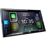 "JVC 6.2"" Multimedia Carplay/Android Auto Receiver - $228.00 ($200.00 off)"