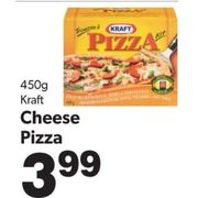 Kraft Cheese Pizza - $3.99