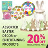 Easter Decor Or Entertaining Products - 20% off