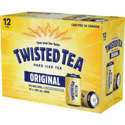 Twisted Tea - Original Hard Iced Tea 12 Can - $22.49 ($2.00 Off)