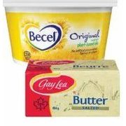 Becel Margarine or Gay Lea Butter - $4.99 (Up to $1.50 off)