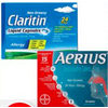 Aerius or Claritin Allergy Tablets - $24.99