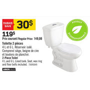 Awesome Rona Uberhaus 2 Piece Toilet 119 00 20 Off Gamerscity Chair Design For Home Gamerscityorg